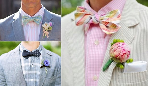 Mismatched Colours and Patterns For The Groom | Confetti.co.uk