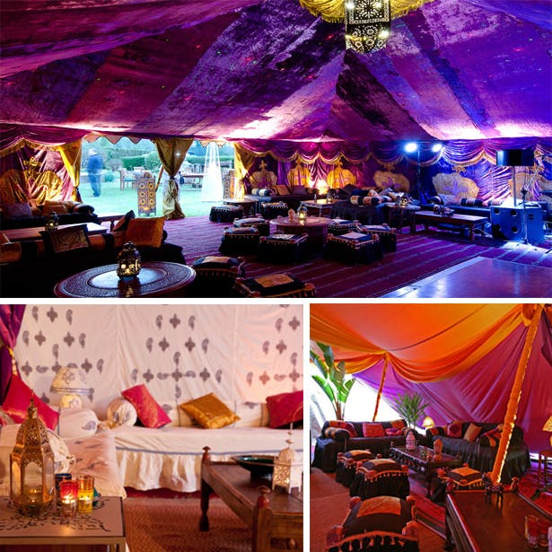Moroccan Style Marquees | Confetti.co.uk