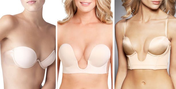 Bras for plunging necklines and low backs | Confetti.co.uk