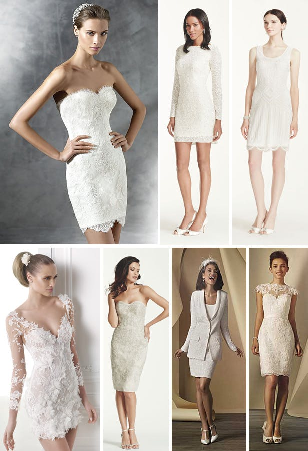 Fitted Knee Length Wedding Dresses | Confetti.co.uk