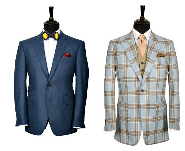 King and Allen modern bespoke suits   Confetti.co.uk