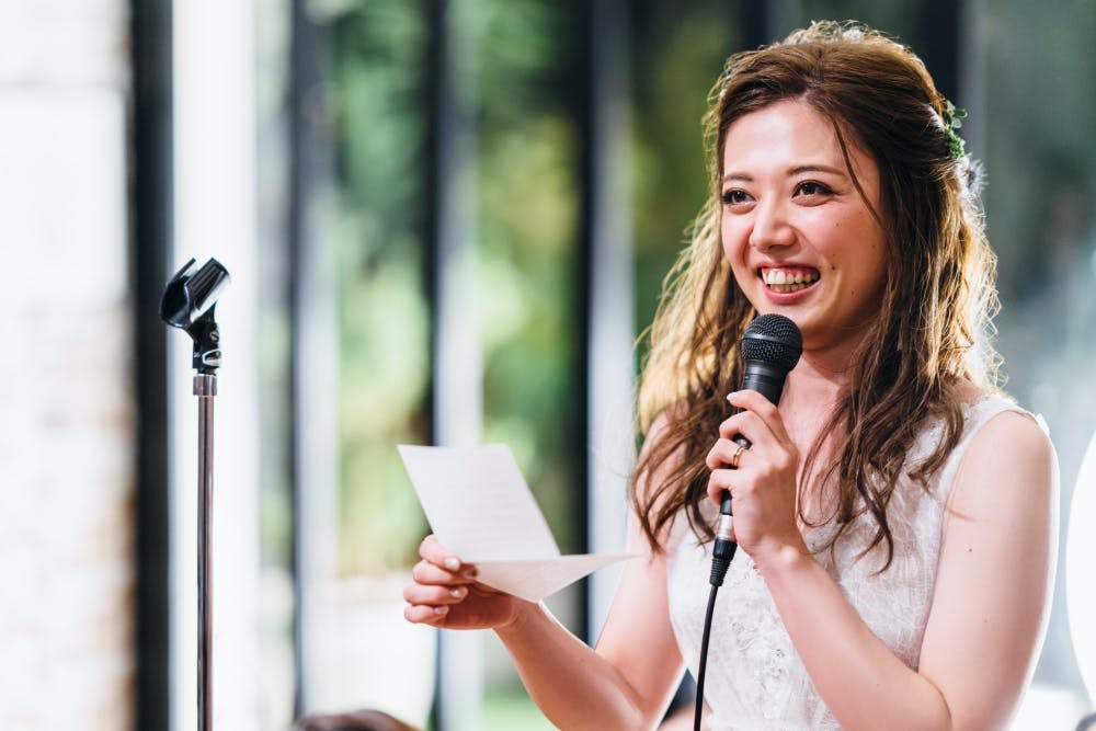 Sample Speeches for Brides to Have Their Say on the Big Day