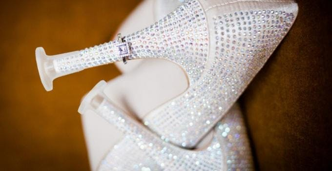 Cleans Heels For Wedding Shoes | Confetti.co.uk