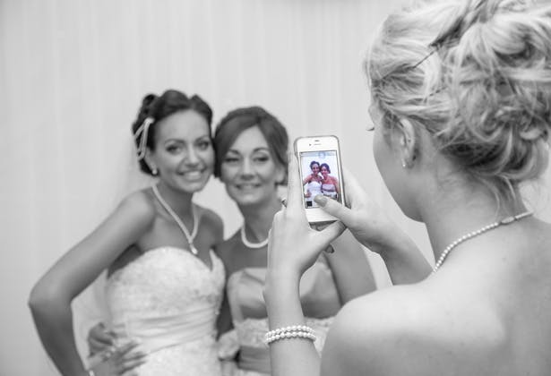 Bridesmaids Photo Within a Photo | Confetti.co.uk