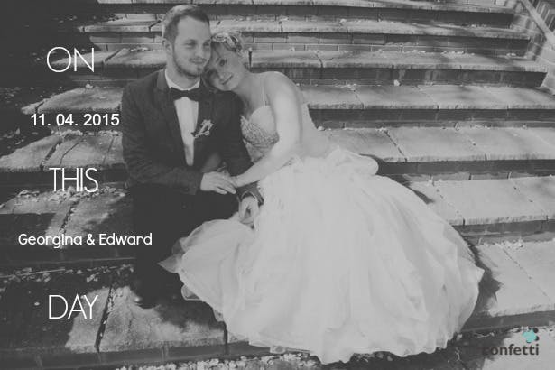 Georgina and Edward's real wedding | Confetti.co.uk