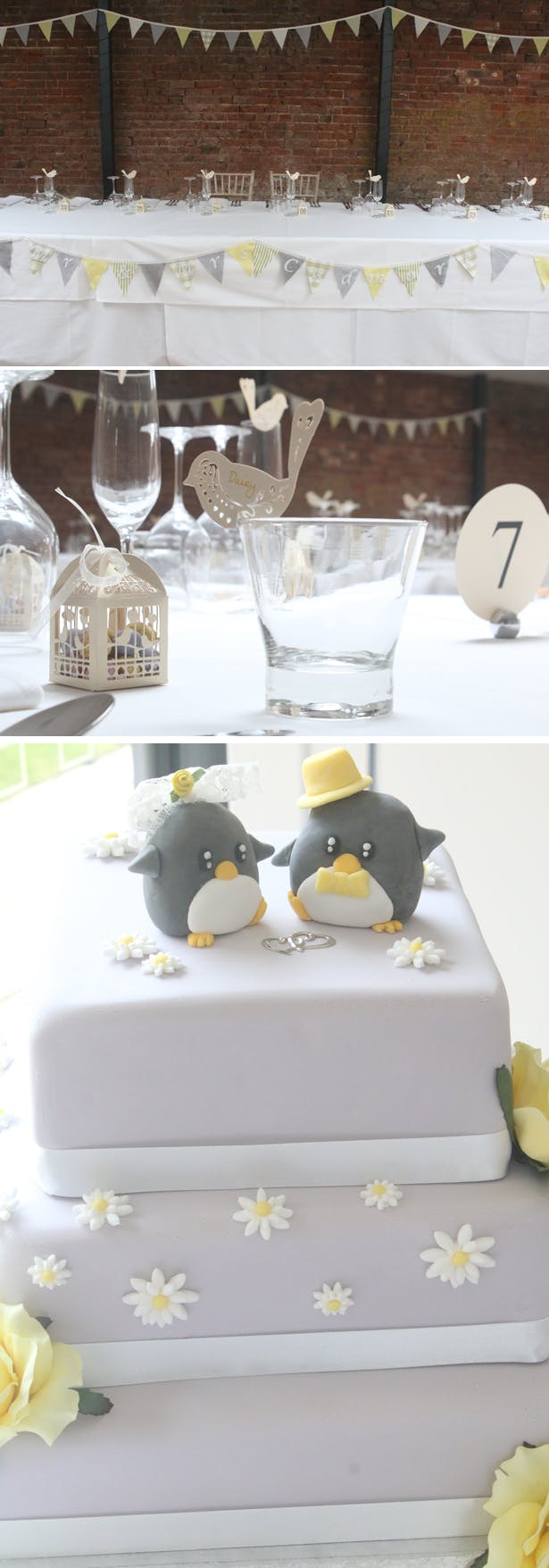 Grey and yellow wedding ideas | Lynn and Mark's Grey and Yellow wedding | Confetti.co.uk