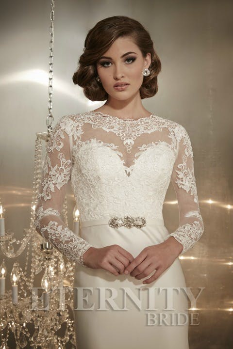 Delicate and demure lace is a go-to look for brides | Confetti.co.uk