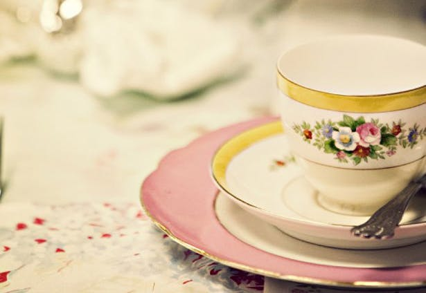 Hen Party Ideas for Bridesmaids under 18 years old | Afternoon tea party hen party idea | More wedding planning tips at Confetti.co.uk