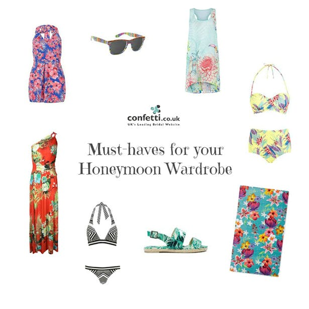 Must-haves for your Honeymoon Wardrobe | More honeymoon inspiration from Confetti.co.uk