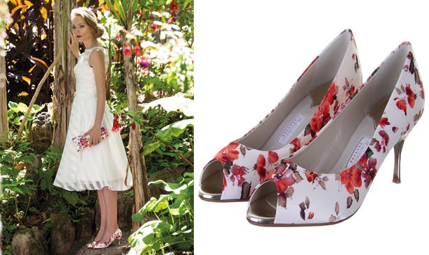 Patterned Wedding Shoes | Confetti.co.uk