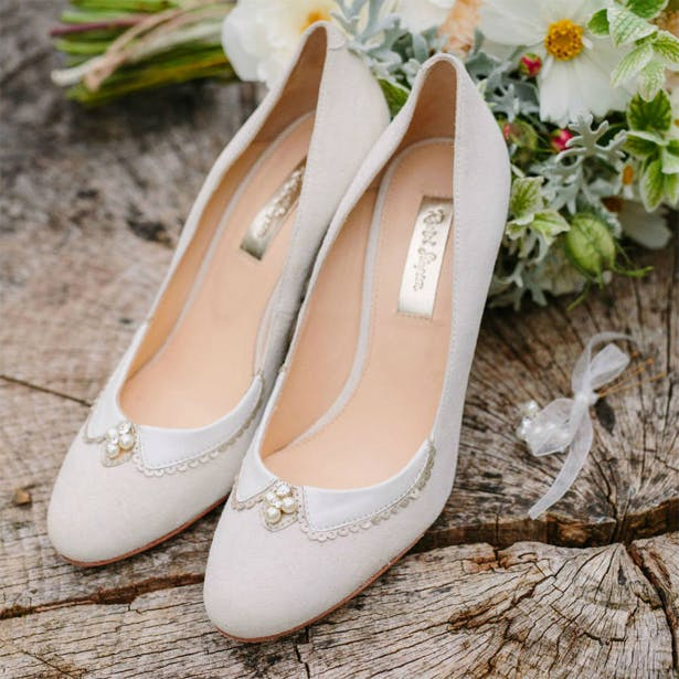 Neutral Wedding Shoes | Confetti.co.uk