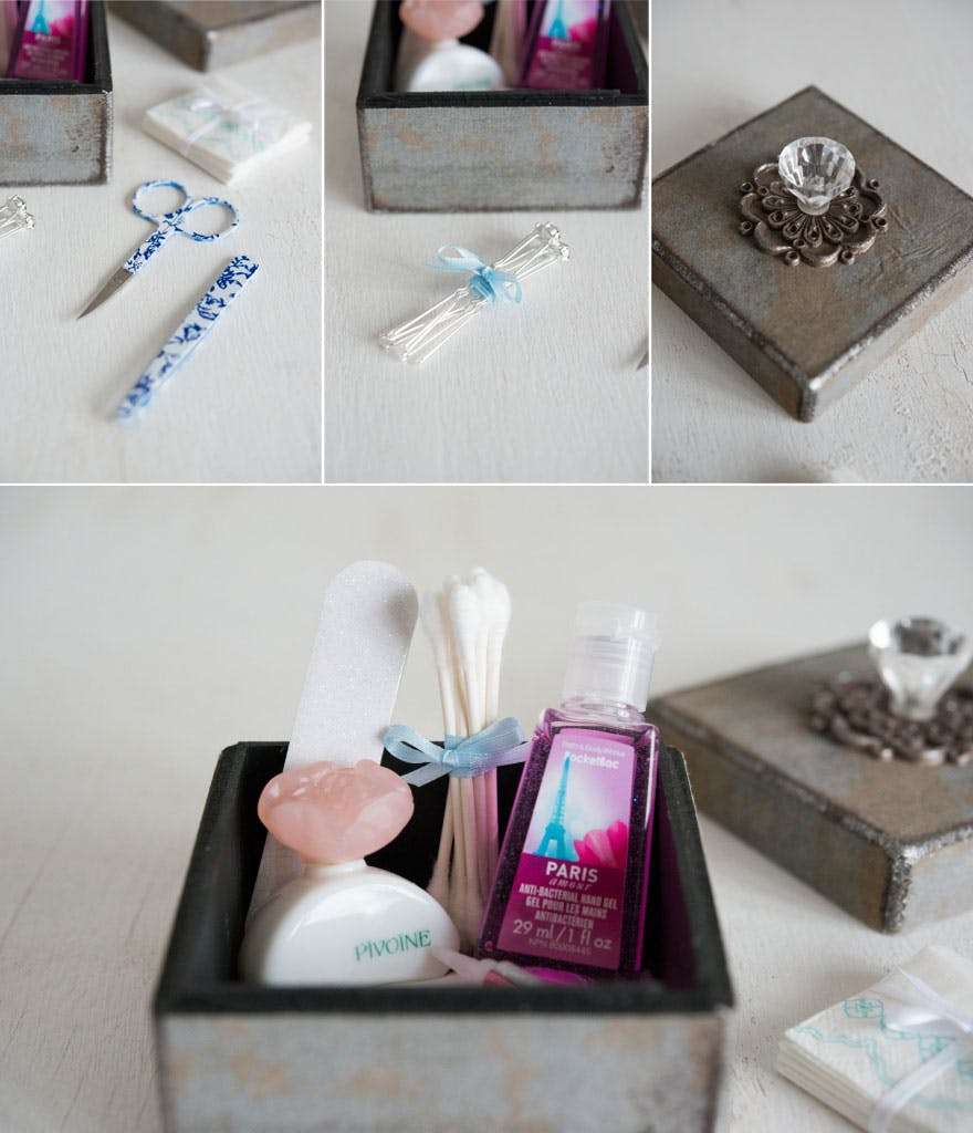 Vintage Emergency Gift Boxes Contents | Confetti.co.uk