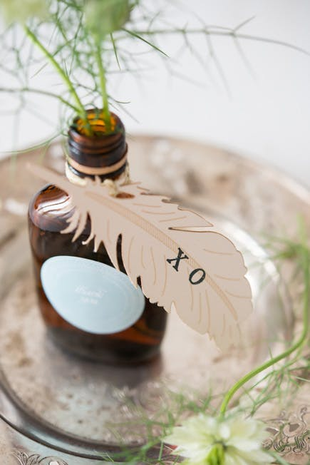 Bottled Boho Wildflowers | Confetti.co.uk