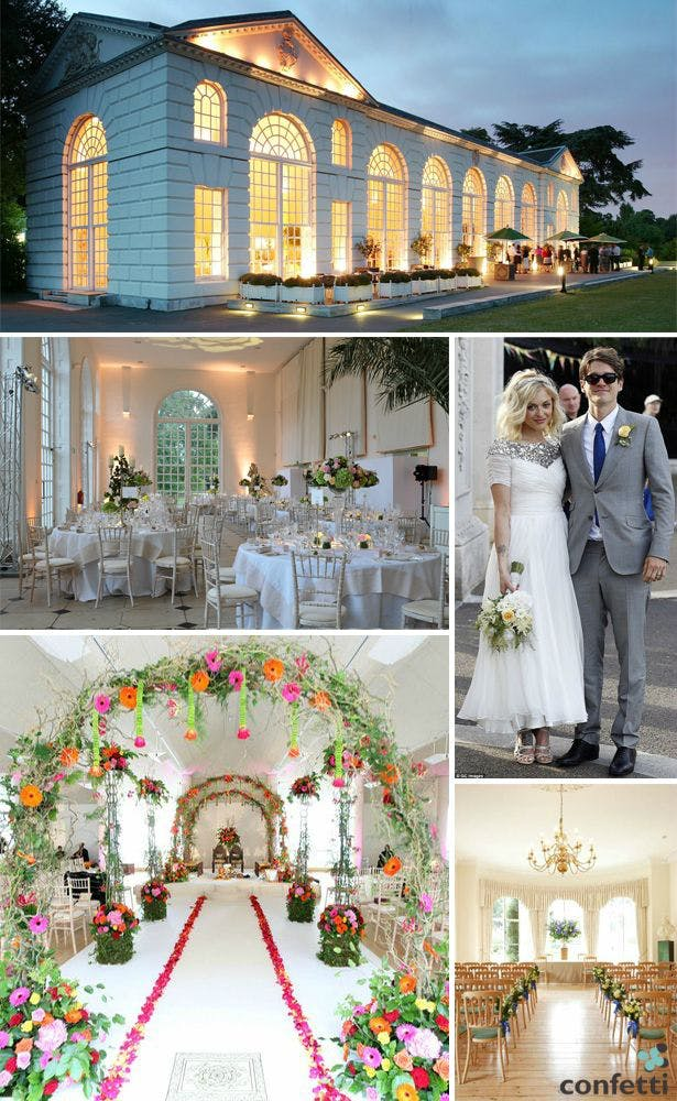 Celebrity Wedding Venues Confetti Co Uk
