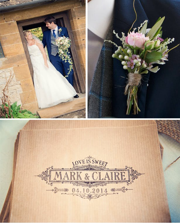 Claire and Mark's Relaxed Country Wedding | Confetti.co.uk