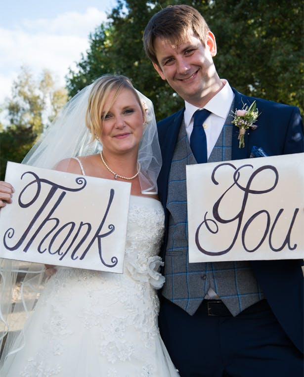 Claire and Mark's Real Wedding | Confetti.co.uk
