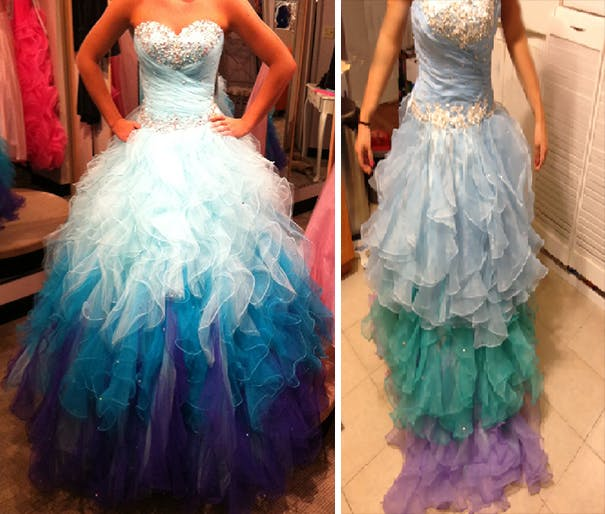 Don't be fooled into buying designer dresses online; this is a known wedding industry scam!