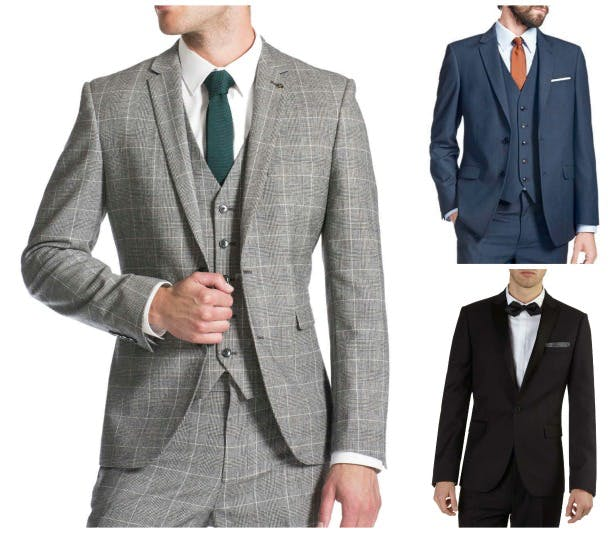 High Street Wedding Suits For The Groom Confetti Co Uk