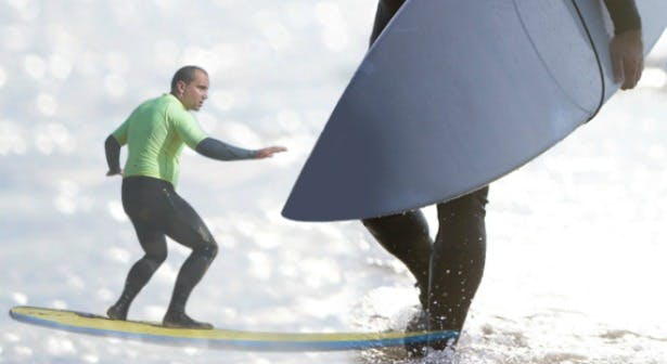 Surfing stag do at Vale Resort Wales | Confetti.co.uk