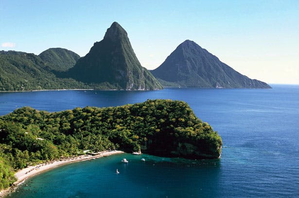 Take in the stunning St Lucia backdrop on an active honeymoon | Confetti.co.uk