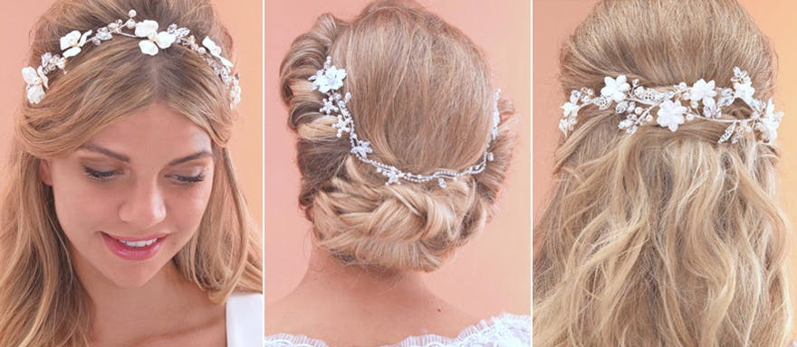Arianna Headpiece - Vines and Browbands - AR503 AR507 and AR518 | Confetti.co.uk