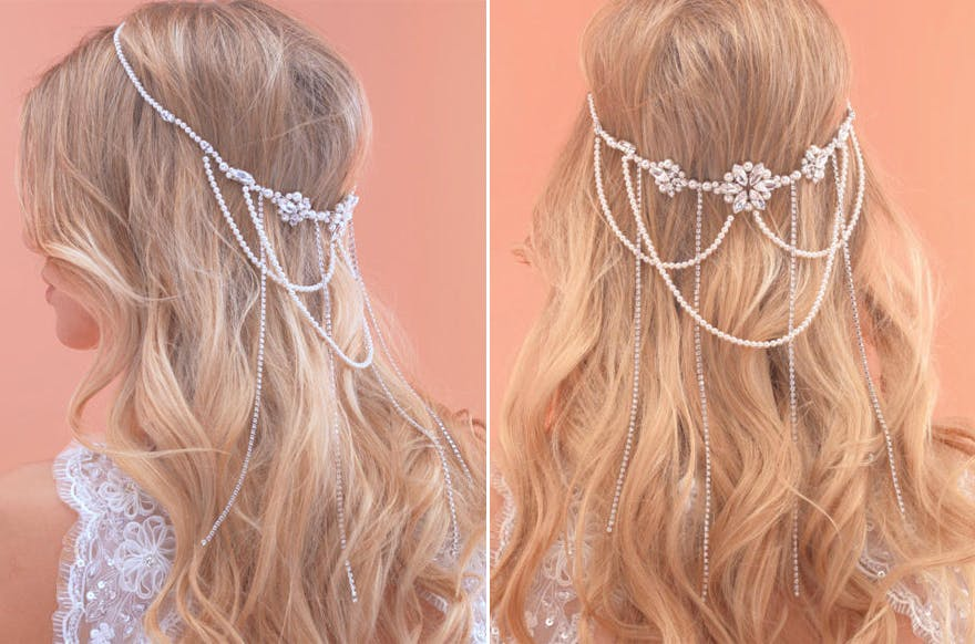 Arianna Headpiece - Vines and Browbands - AR514 | Confetti.co.uk