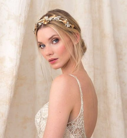 Beautiful Bridal Headband - Wedding Dress by Justin Alexander - Style 9895 | Confetti.co.uk