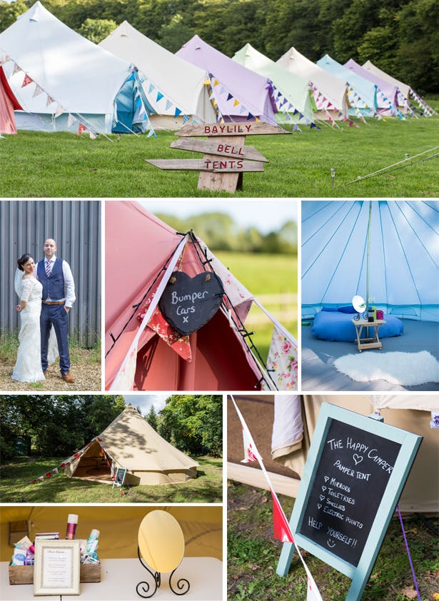 Glamping Wedding | Confetti.co.uk