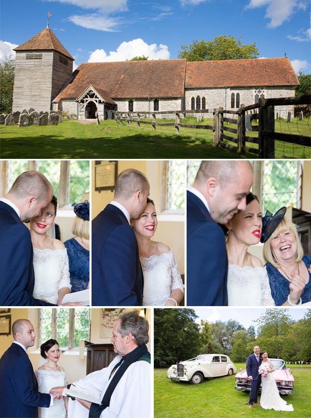 Vikki and Ben's Wedding Ceremony | Confetti.co.uk