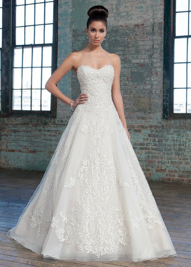 Signature Collection by Justin Alexander A-line Wedding Dress | Confetti.co.uk