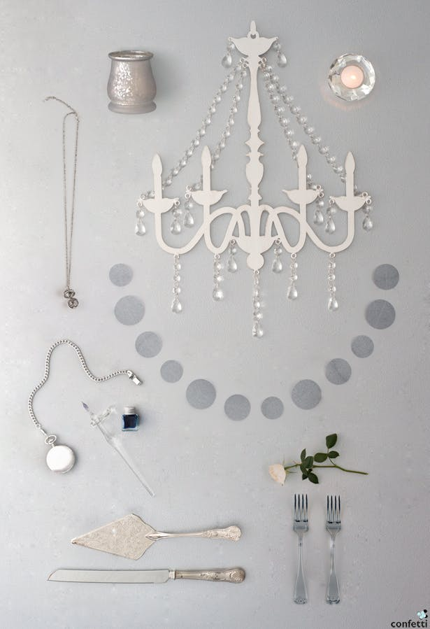 Silver Glamour | Confetti.co.uk