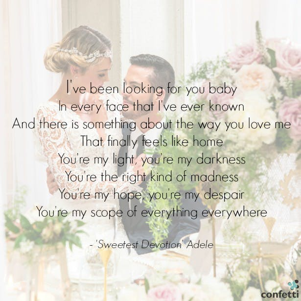 The Most Popular Wedding Songs For 2016 Confetticouk