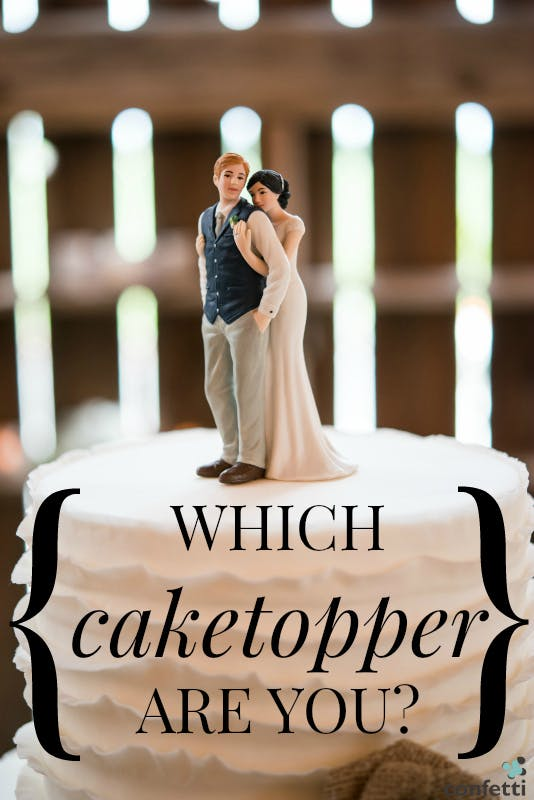 Quiz Which Cake Topper Are You Confetti