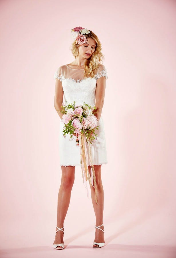 Mini Wedding Dress by Charlotte Balbier | Confetti.co.uk
