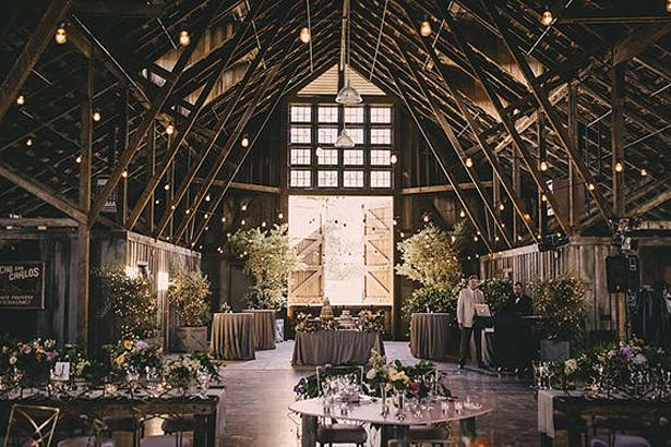 Opulent Barn Wedding | Confetti.co.uk
