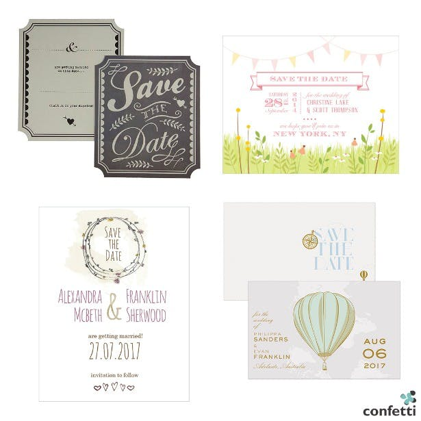 When To Send Your Save The Date & Wedding Invitations