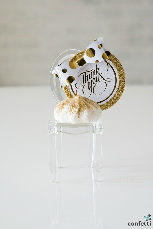 Gold Mini Phantom Chair Favours | Confetti.co.uk