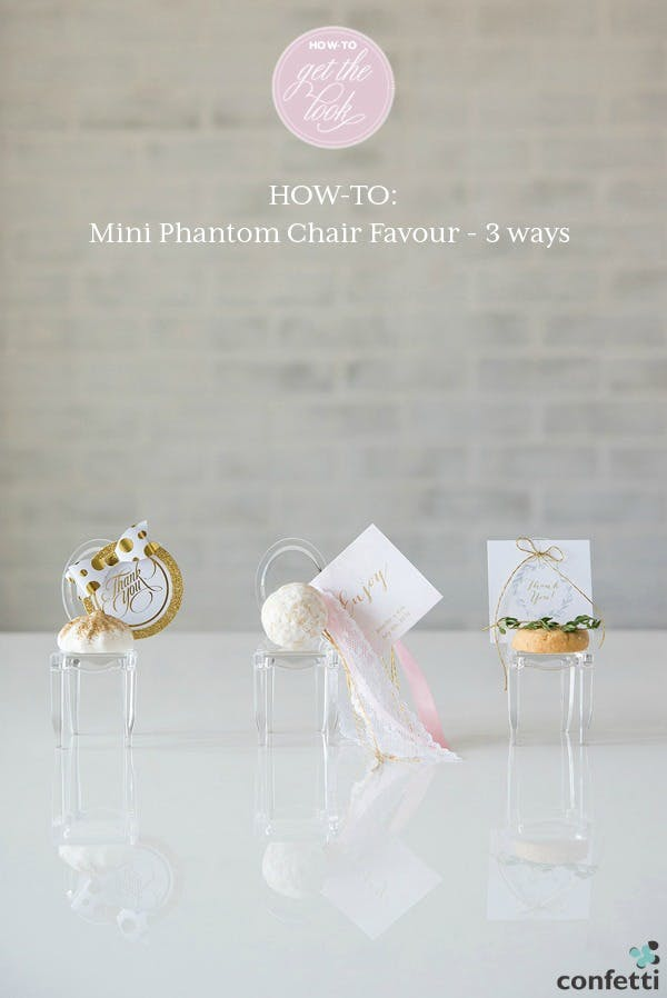 Mini Phantom Chair Favours | Confetti.co.uk