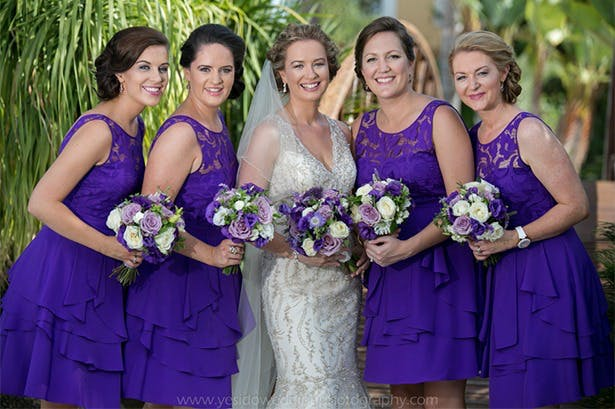 Purple Bridesmaid Dresses | Confetti.co.uk