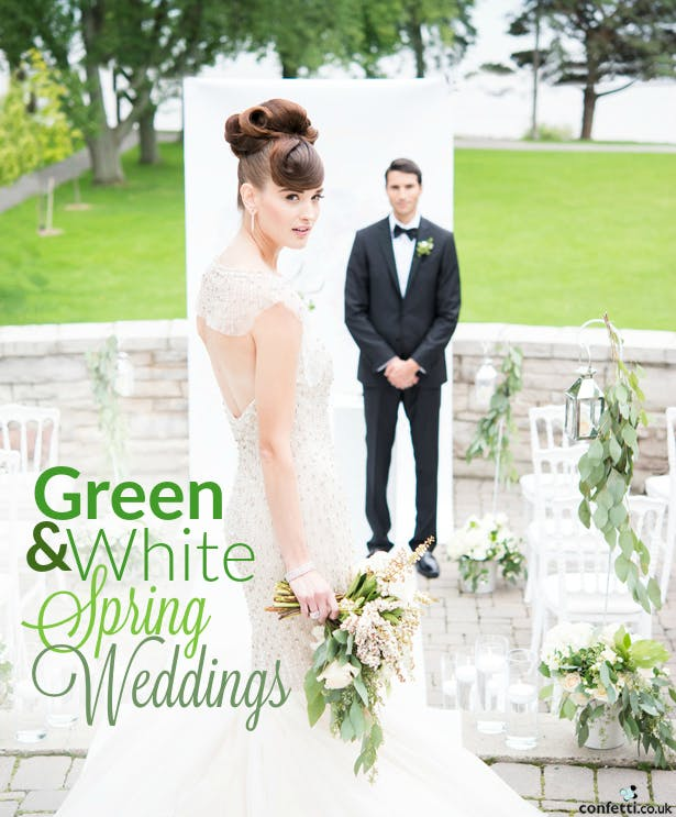 Green and White Spring Weddings | Confetti.co.uk
