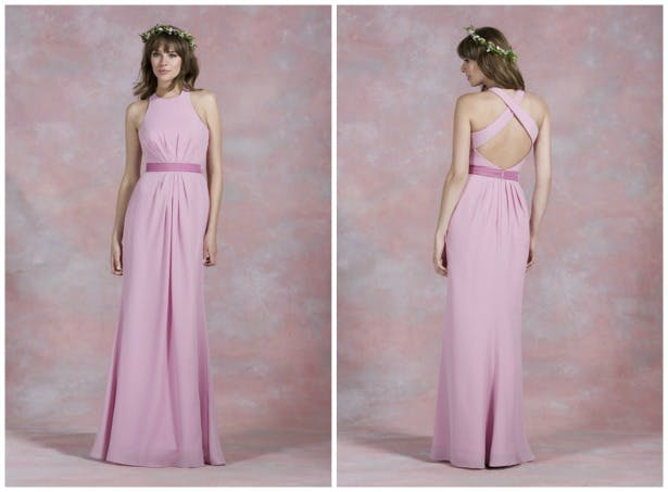 Pink bridesmaid dress by Kelsey Rose | Confetti.co.k
