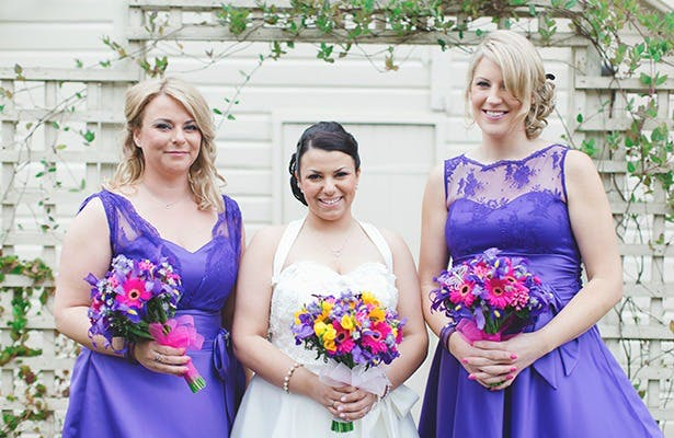 Bridesmaids from Real Weddings | Confetti.co.uk