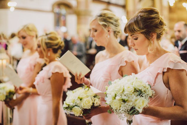 Pale Pink Bridesmaid Dresses | Confetti.co.uk