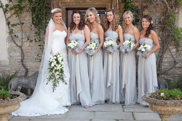 Silver Bridesmaid Dresses | Confetti.co.uk