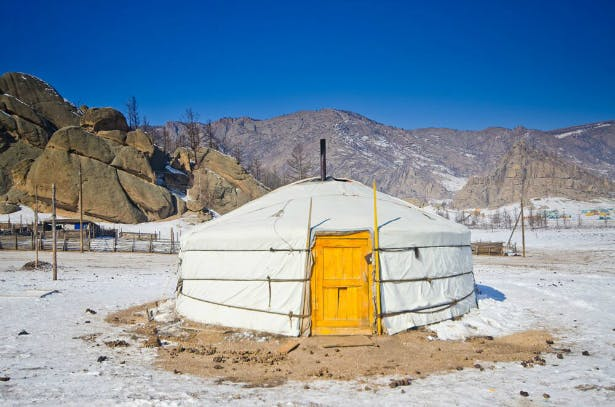 Yurt in Mongolia | Confetti.co.uk