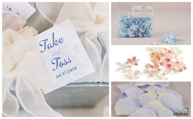 Silk petal confetti | Confetti.co.uk