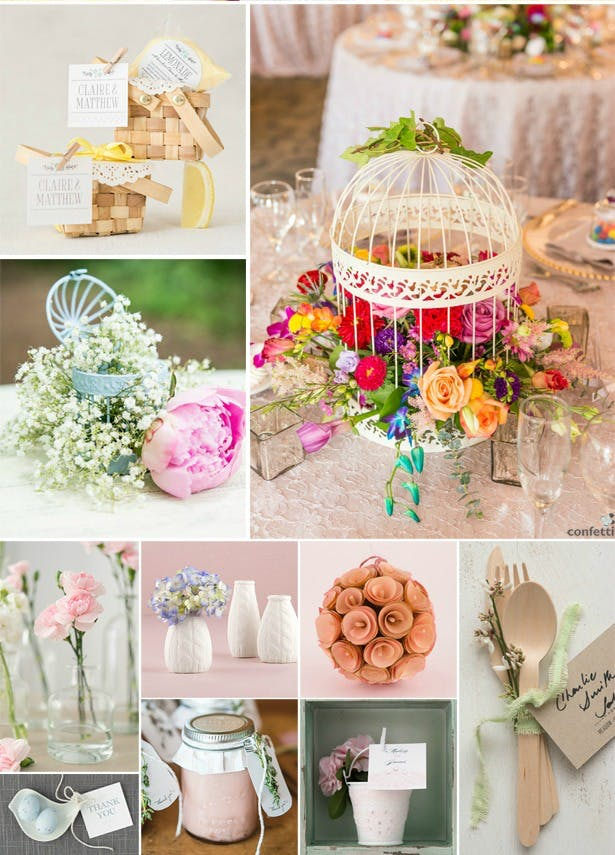 How to style a colourful wedding with Confetti.co.uk