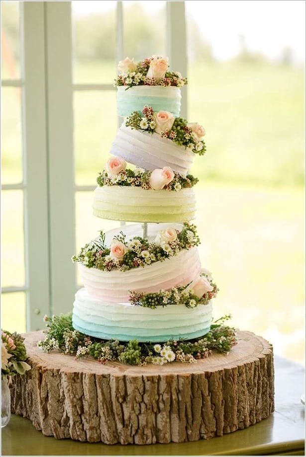 Spring and Summer Wedding Cake Inspiration: 23 Beautiful Wedding Cakes