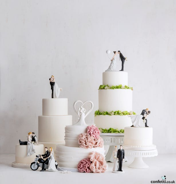Wedding Cake Toppers by Confetti.co.uk