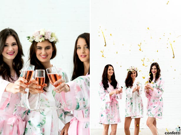 Bridesmaids Celebrate | Confetti.co.uk